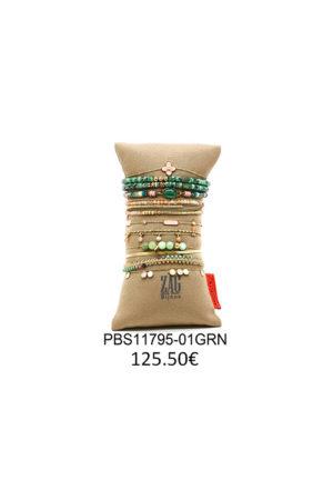 Ensemble de bracelets colorés