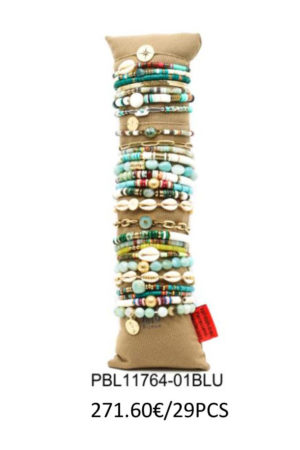 Ensemble de 29 bracelets